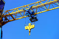 Crane And Building Construction Site Against The Sky Stock Images - 60447584