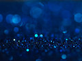 Defocused Abstract Blue Lights Background . Bokeh Lights. Stock Images - 60454684