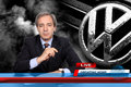 TV News Reporter On Volkswagen Fraud Scandal Royalty Free Stock Photography - 60460487