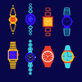 Collection Of Fashion Watch Royalty Free Stock Photo - 60478675