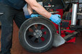 Car Tire Changing Stock Images - 60495224