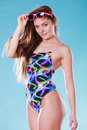 Seductive Woman Girl In Swimsuit. Summer Holiday. Royalty Free Stock Images - 60499269