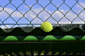 Tennis Ball Out Royalty Free Stock Photos - 60508408