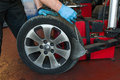 Car Tire Changing Royalty Free Stock Image - 60512306