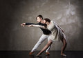 Beautiful Couple In The Active Ballroom Dance Royalty Free Stock Photography - 60525677