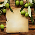 Olive Oil Label Royalty Free Stock Photos - 60525838