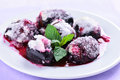Sugar Plums On White Plate Royalty Free Stock Images - 60585989