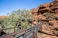 Kings Canyon Bridge Crossing Royalty Free Stock Image - 60596126