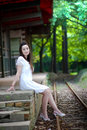 Beauty Beside The Track Royalty Free Stock Photography - 6063107