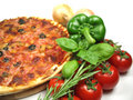 Pizza And Ingredients Stock Photo - 6067220