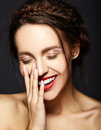 Beautiful  Woman With Fresh Daily Makeup And Clean Face Stock Images - 60622294