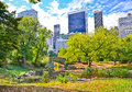 Central Park In New York City In Autumn Royalty Free Stock Image - 60656836