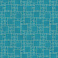 Teal And Yellow Square Abstract Geometric Design Tile Pattern Re Royalty Free Stock Photography - 60667167