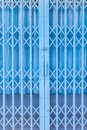 Rusty Traditional Gate Or Folding Doors Stock Image - 60678411