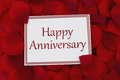 Happy Anniversary Card Royalty Free Stock Photography - 60681467