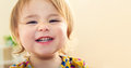 Happy Toddler Girl With A Big Beautiful Smile Stock Photo - 60683840