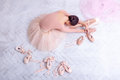 Professional Ballet Dancer Resting After The Performance. Royalty Free Stock Image - 60705376