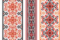 Ukrainian Folk Art. Set Of Traditional Embroidery Patterns. Abstract  Texture Royalty Free Stock Photography - 60707827