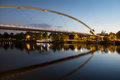 The High Bridge Of Maastricht Reflected In The Meuse River. Stock Photos - 60729683