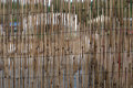 Wall Made ​​of Bamboo Royalty Free Stock Photos - 60731948
