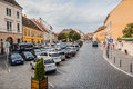 Street In The Buda Hill Next To Buda Castle Royalty Free Stock Image - 60768166