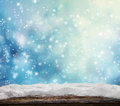 Winter Snowy Abstract Background Royalty Free Stock Image - 60771806