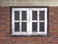 Old Windows And Red Bricks Royalty Free Stock Photo - 60788505