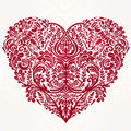 Lace Heart  Art. Stock Images - 60789134