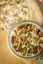 Home Made Musli Royalty Free Stock Photography - 60795237