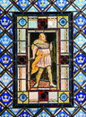 Stained Glass With Macbeth Stock Images - 60851474