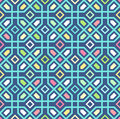 Seamless Oriental Pattern. Vector Background Stock Photos - 60854663