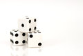 Isolated Dice Stock Image - 60868021