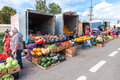 Fresh Vegetables And Fruits Ready To Sale At The Local Farmers Market Stock Images - 60873114