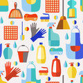 Cleaning Products Seamless Pattern. Stock Photography - 60876712