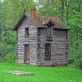 Cabin In The Woods Royalty Free Stock Image - 60883066