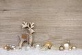 Country Style Christmas Decoration For A Greeting Card With Wood Stock Photography - 60884192