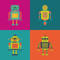 Robots Royalty Free Stock Images - 60889319