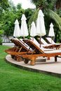 Deck Chairs Royalty Free Stock Images - 6090009