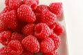 Bowl Of Raspberries Royalty Free Stock Images - 6098419