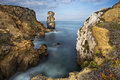 View Of The The Sea And Rocks In Peniche Stock Photography - 60906972