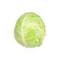 Cabbage Isolated On White Royalty Free Stock Image - 60925236