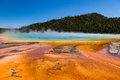 Grand Prismatic Spring In Yellowstone National Park, USA Royalty Free Stock Photo - 60927655