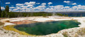 Abyss Pool At West Thumb Geyser Basin Stock Images - 60931084