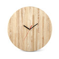 Wooden Round Wall Watch - Clock Isolated On White Background Stock Photos - 60953913