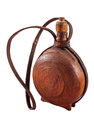 Old Water Bottle Made Of Dark Wood - Cutura Stock Image - 60954931