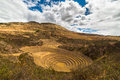 Concentric Terraces In Moray, Sacred Valley, Peru Stock Images - 60969384