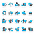 Business And Industrial Insurance Icons Royalty Free Stock Photos - 60979568