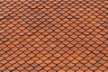 Tile Roof Texture Stock Image - 60981301