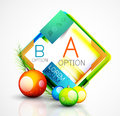Abstract Web Message Box With Christmas Decoration Stock Image - 60986761