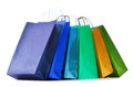 Paper Shopping Bags On White Background Royalty Free Stock Images - 60989879